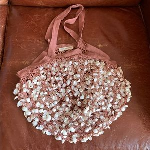 Ulla Johnson exclusive shell net bag